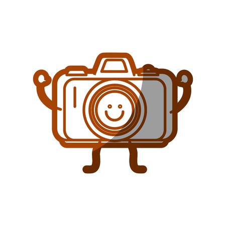 Happy camera icon.
