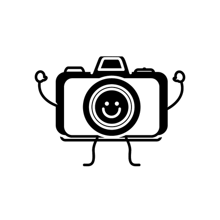Happy camera icon.