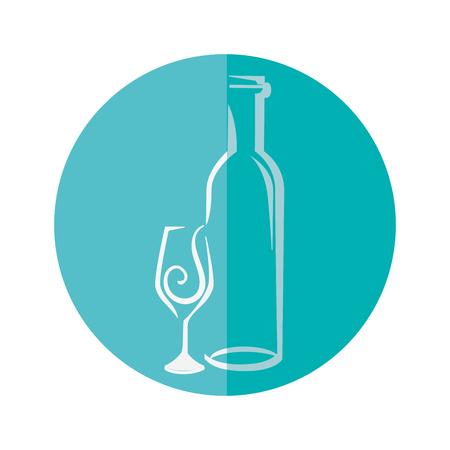 おいしいワイン カップ アイコン ベクトル イラスト グラフィック デザイン