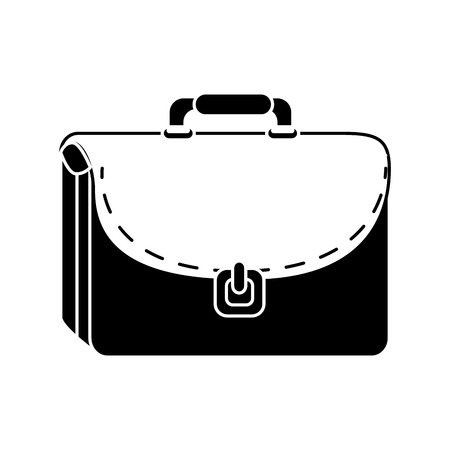Business briefcase isolated icon vector illustration graphic design Reklamní fotografie