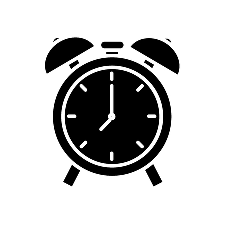 Bells Alarm clock icon vector illustration graphic design