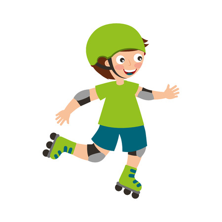 little skater avatar icon vector illustration design Reklamní fotografie - 76947427