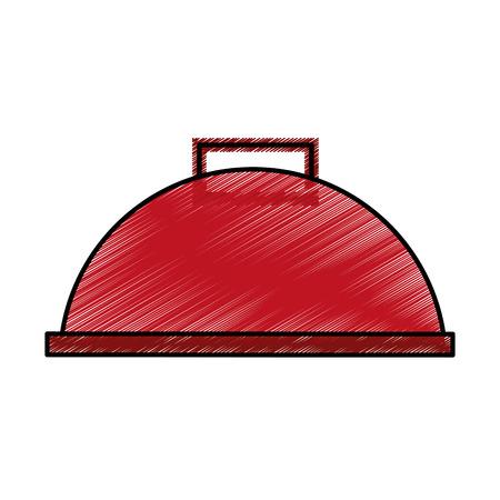 Serveur icône de la barre isolée illustration vectorielle conception Banque d'images - 76947518