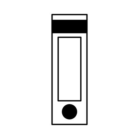레버 아치 격리 된 아이콘 벡터 일러스트 디자인 일러스트
