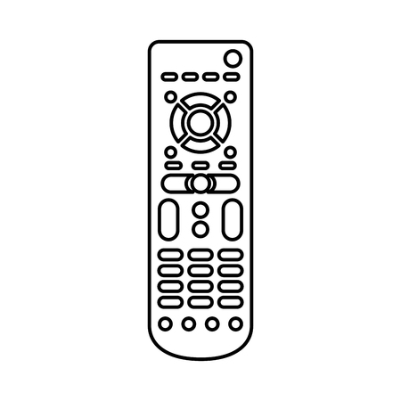 remote control isolated icon vector illustration design