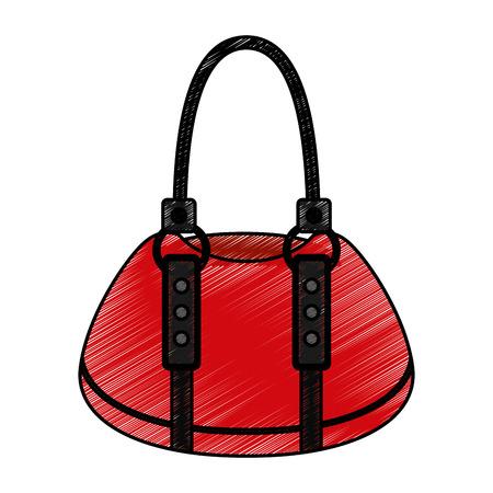 femenine bag isolated icon vector illustration design