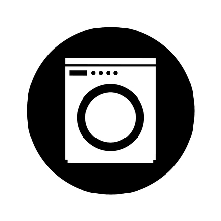 wash machine isolated icon vector illustration design Иллюстрация