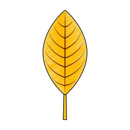 woodland floral decorative icon vector illustration design Illustration