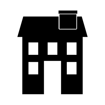european culture: cute building antique icon vector illustration design