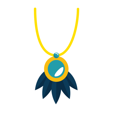 necklace beautiful isolated icon vector illustration design Illustration