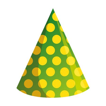hat party isolated icon vector illustration design Ilustração