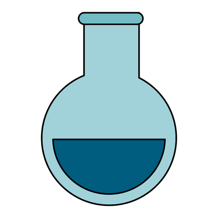 drug discovery: tube test medical isolated icon vector illustration design