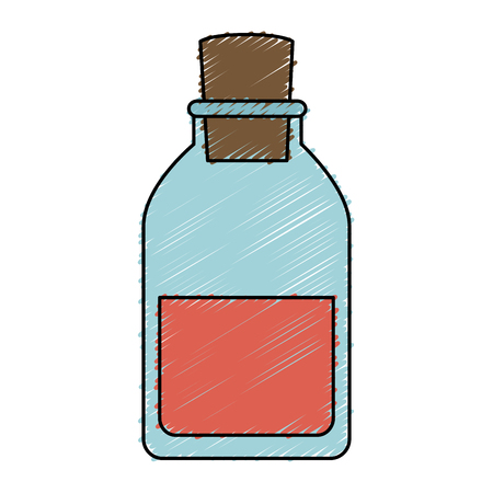 tube test medical isolated icon vector illustration design