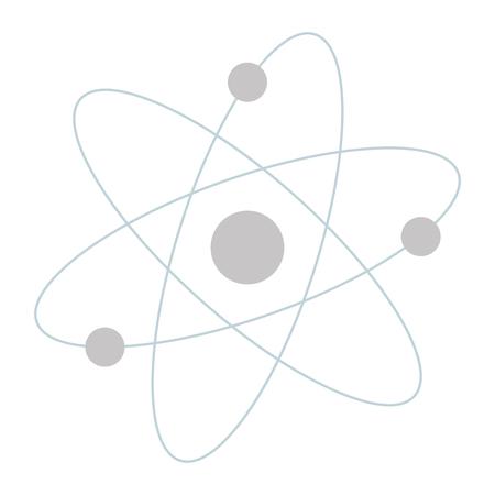 Molécule atome icône isolé illustration vectorielle conception Banque d'images - 76925838