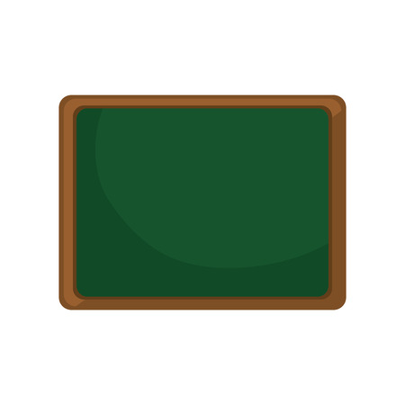chalkboard school isolated icon vector illustration design