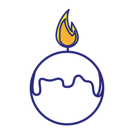 Spa candles aromatherapy icon vector illustration graphic design. Illustration