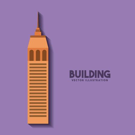 luxury house: big building isolated icon vector illustration design Illustration