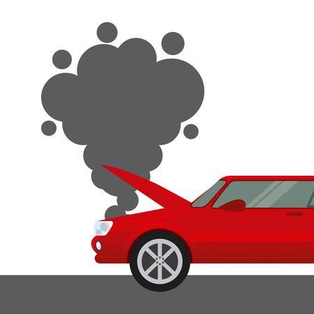car insurance concept icon vector illustration design Illustration