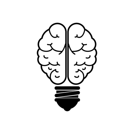 Bulb and big ideas icon vector illustration graphic design Stock Vector - 76962104