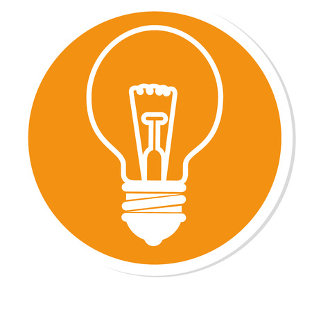 Bulb and big ideas icon vector illustration graphic design Illustration