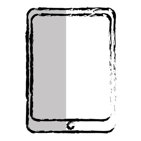 tablet device isolated icon vector illustration design Иллюстрация
