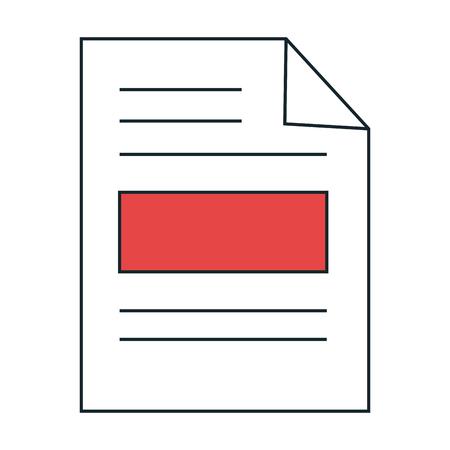 paper leaf notebook icon vector illustration design Illustration