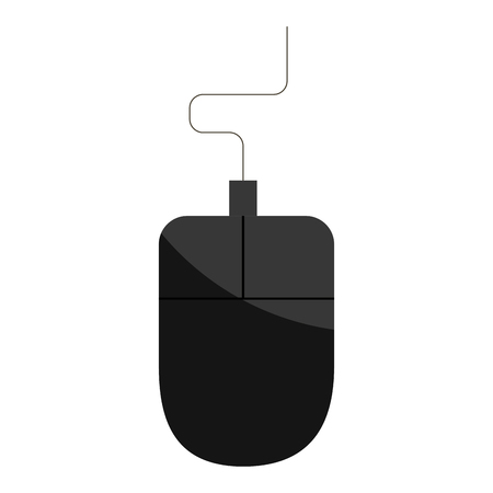 computer mouse isolated icon vector illustration design Reklamní fotografie - 76962793