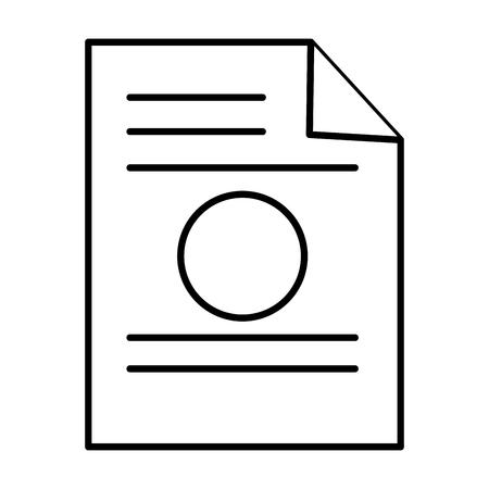 old notebook: paper leaf notebook icon vector illustration design Illustration