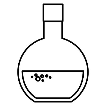 medical symbol: tube test medical isolated icon vector illustration design