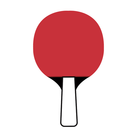 table tennis racket isolated icon vector illustration design