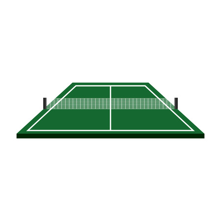 ping pong table isolated icon vector illustration design Illustration