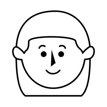 Mooie moeder avatar karakter vector illustratie ontwerp