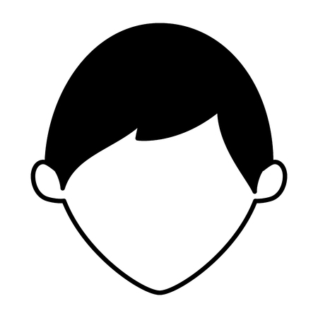 young father avatar character vector illustration design