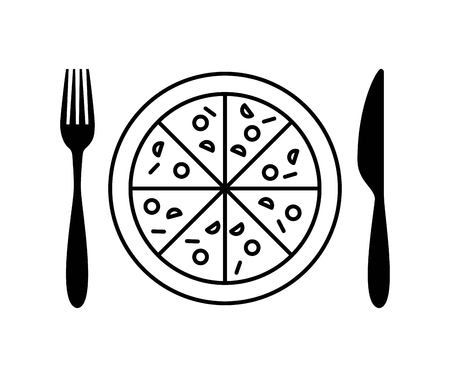 menu restaurant with cutlery set vector illustration design Иллюстрация