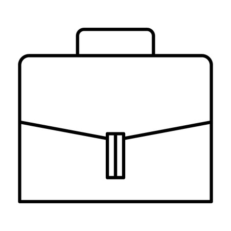 portfolio briefcase isolated icon vector illustration design Imagens