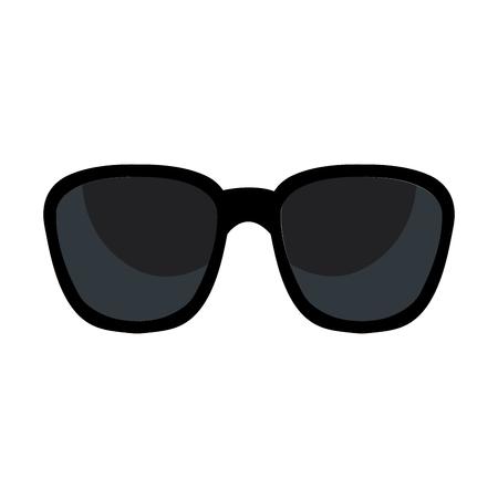 sunglasses accesory isolated icon vector illustration design Ilustração