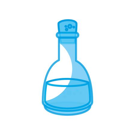 oil bottle icon over white background. vector illustration Stock Vector - 77195280