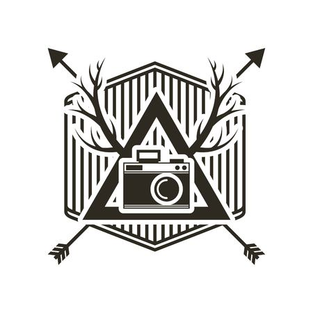 old items: retro hipster style element icon vector illustration design Illustration