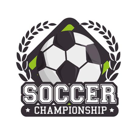Fútbol deporte bola aislada icono vector ilustración diseño Foto de archivo - 77278978