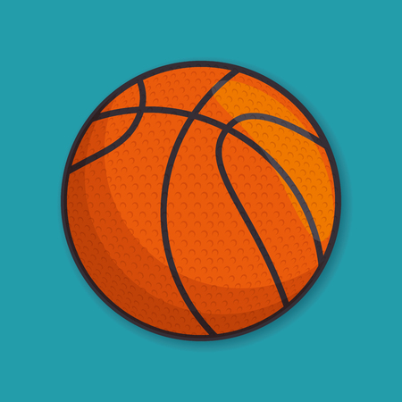 basketball sport ball isolated icon vector illustration design