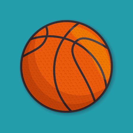 Deporte deporte bola aislado icono de ilustración vectorial de diseño Foto de archivo - 77279136