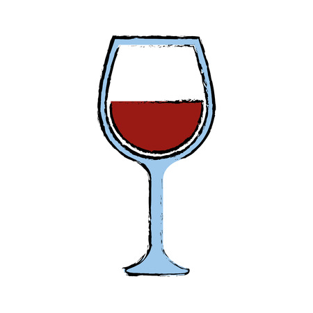 Wine cup isolated icon vector illustration graphic design