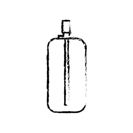 Spray paint bottle icon vector illustration graphic design Stock Photo