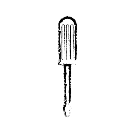 Screwdriver construction tool icon vector illustration graphic design