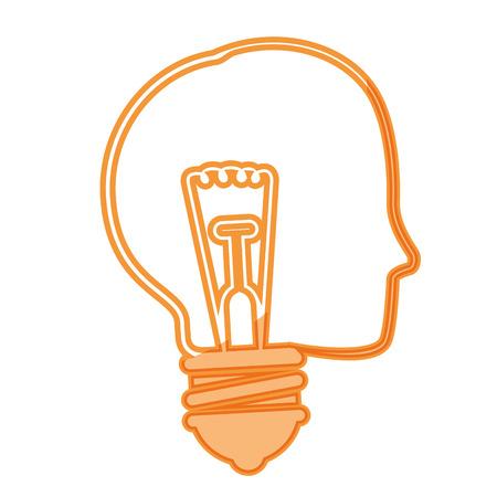Big idea bulb symbol icon vector illustration graphic design Çizim