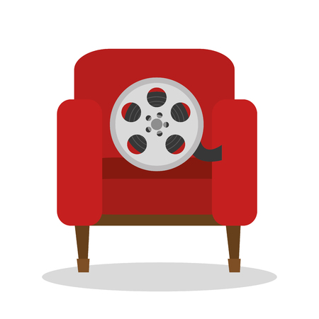 cinema entertainment elements icons vector illustration design Illustration