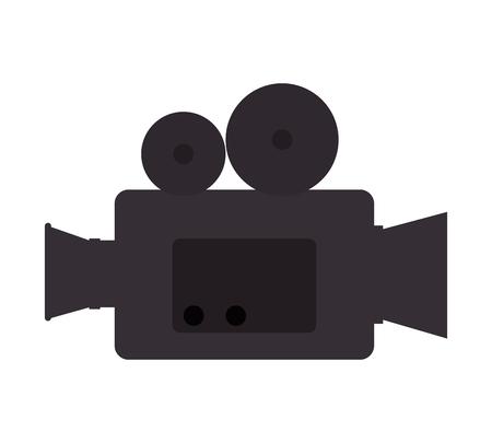 Caméra vidéo cinéma icône illustration vectorielle conception Banque d'images - 77402481