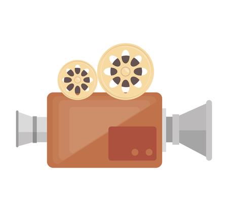 Caméra vidéo cinéma icône illustration vectorielle conception Banque d'images - 77402236