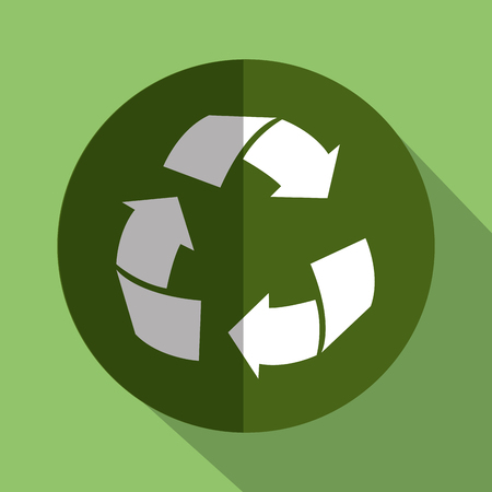 recycle arrows symbol isolated icon vector illustration design Stock fotó - 77411968
