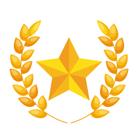 cinema award trophy icon vector illustration design